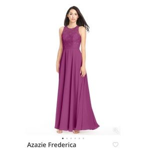 Azazie Frederica bridesmaid dress in Orchid